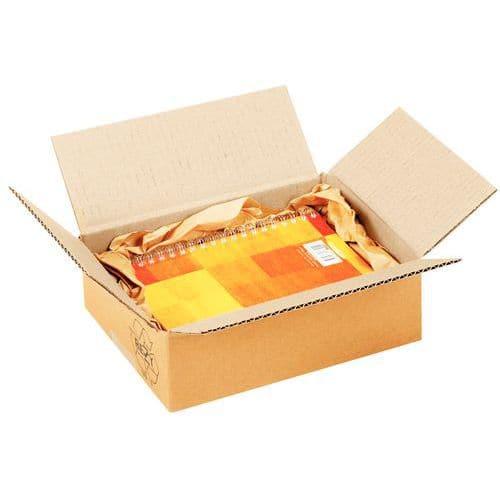Caixa em cartão - Canelado simples - Canelado pequeno - Comprimento de 140 a 310 mm