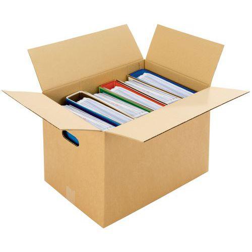 Caixa de mudanças - Canelado simples - Com pega