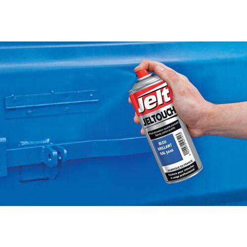 Tinta de secagem muito rápida em aerossol - Azul - Jelt