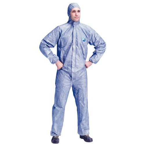 Fato descartável Tyvek® 500 Xpert - Azul