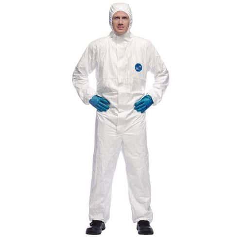 Fato descartável Tyvek® 500 Xpert – Branco