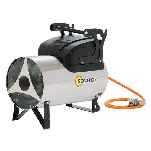 Aquecimento a ar pulsado - A gás propano - Móvel - MG 180 e MG 310