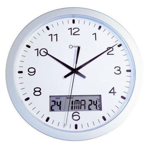 Relógio de parede quartzo com visor LCD