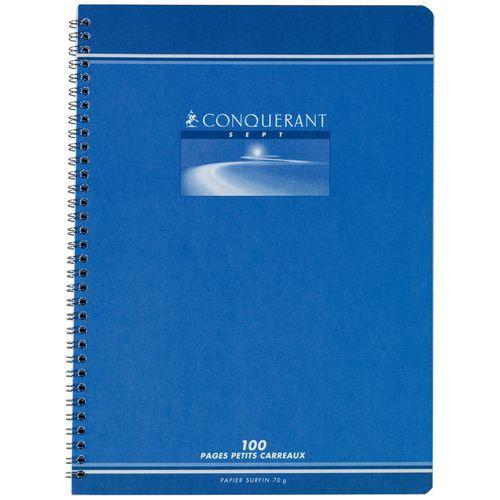 Caderno Conquérant 7 - Quadrados pequenos