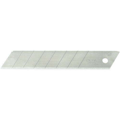 Lâmina sobressalente para faca de segurança - Modelo standard - 18 mm