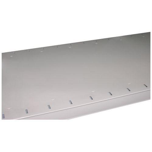 Prateleira para estante Combi-Mag - Espessura 30 mm - Perfurada - 1 reforço