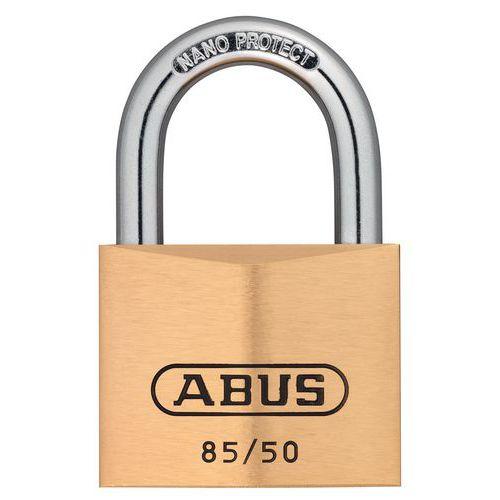 Cadeado de segurança Abus da série 85 para chave-mestra – variado – 2 chaves – 50mm