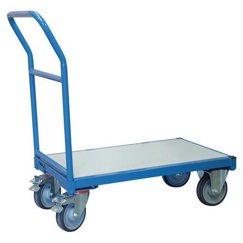 Carro de aço ergonómico – espaldar fixo – capacidade de 400kg