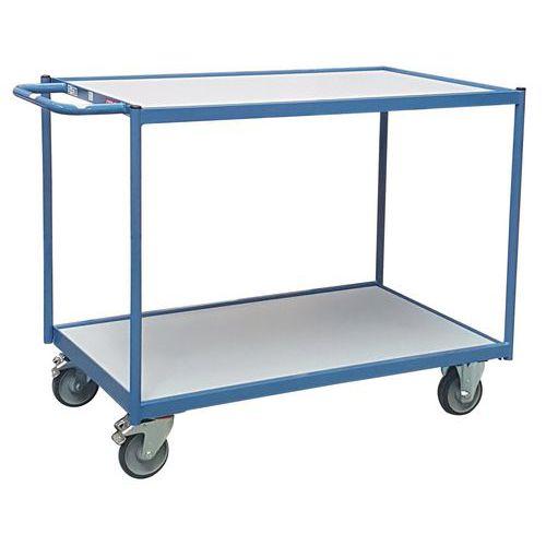 Carro de oficina – barra de manobra horizontal – 2 plataformas – capacidade de 250kg – FIMM