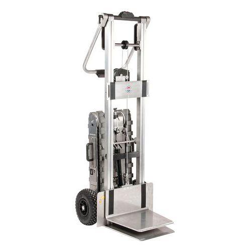 Transportador motorizado para escadas e plataformas de elevação – capacidade de 150kg
