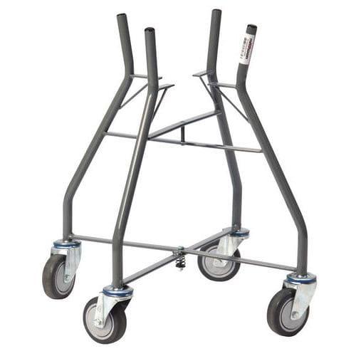 Porta-baldes de estaleiro dobrável de 10/20L – capacidade de 60kg
