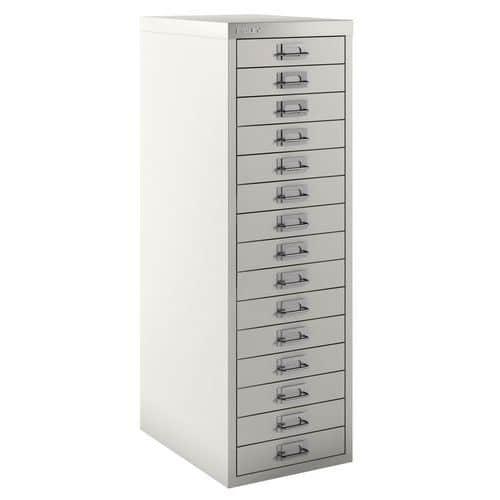 Armário com 15 gavetas texturizado – Bisley