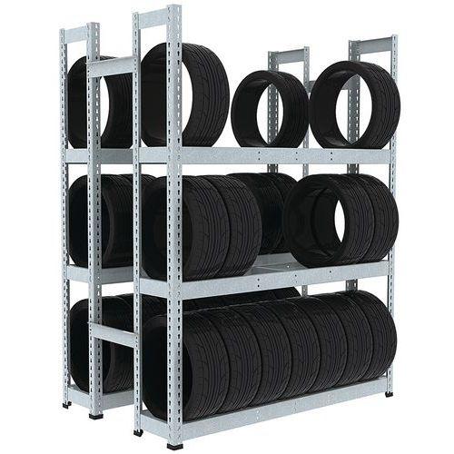 Estante para pneus Manutan Rapid 1 – 455mm de profundidade