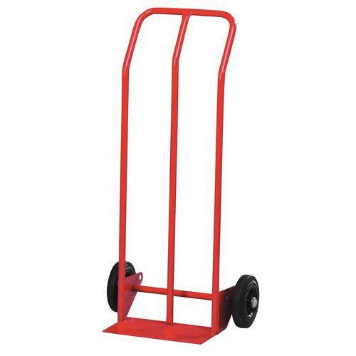 Porta-cargas aço - Rodas borracha - Capacidade 200 kg