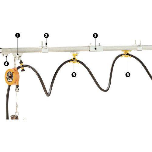 Monocarril para diferencial elétrico – Capacidade de 50kg