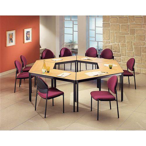 Mesa de reunião modular Confort - Trapezoidal