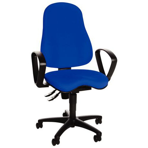 Cadeira de escritório ergonómica Sitness 10 – base em polipropileno