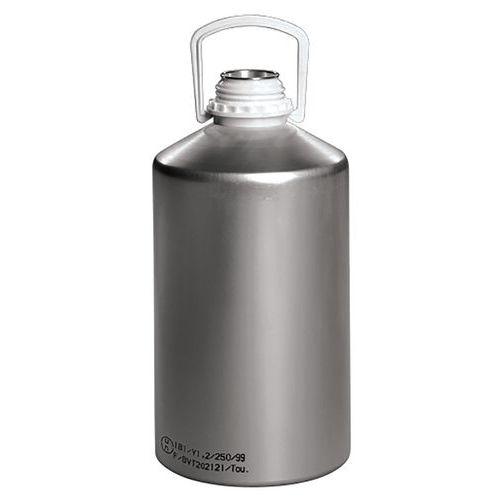 Frasco de alumínio com tampa de enroscar – 625 a 12500ml