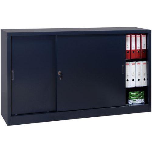 Armário em kit com portas corrediças - Baixo - Largura 180 cm