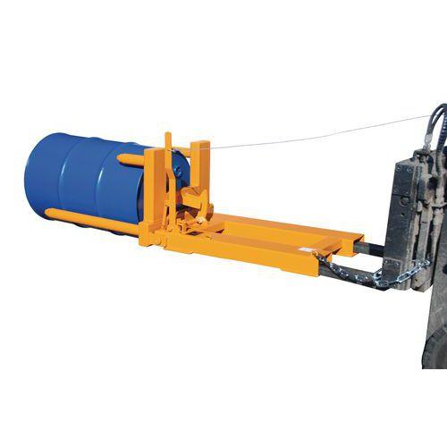 Máquina de movimentação para bidões – capacidade de 300 a 600kg