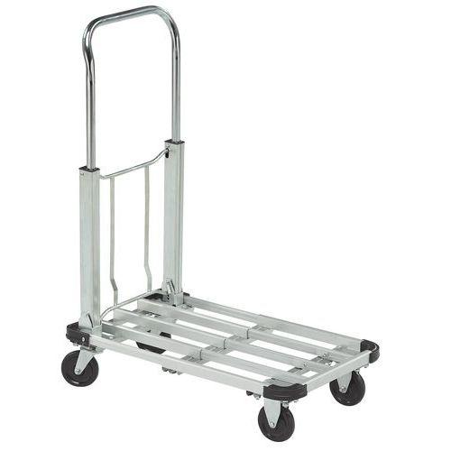Carro alumínio dobrável - Capacidade 150 kg