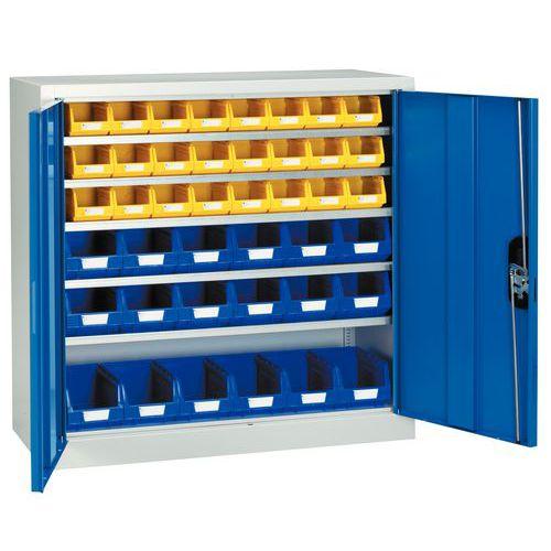 Armário standard com caixas de bico Kangourou - Baixo - Portas simples