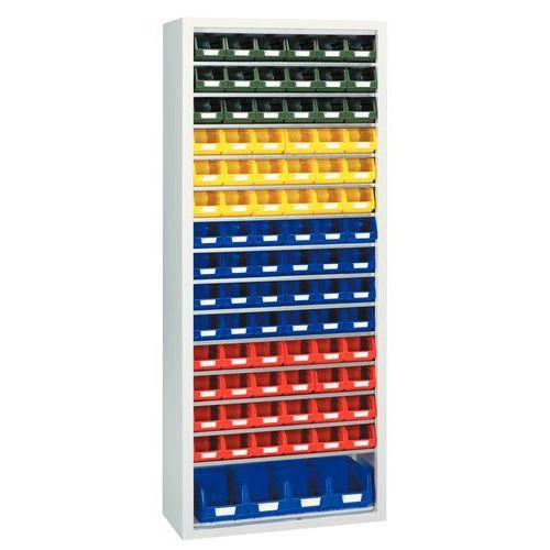 Armário standard com caixas de bico Kangourou - Médio - Sem portas