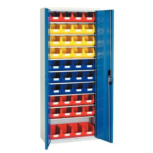 Armário standard com caixas de bico Kangourou - Médio - Portas simples