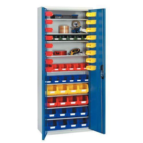 Armário standard com caixas de bico Kangourou - Médio - Portas combinadas