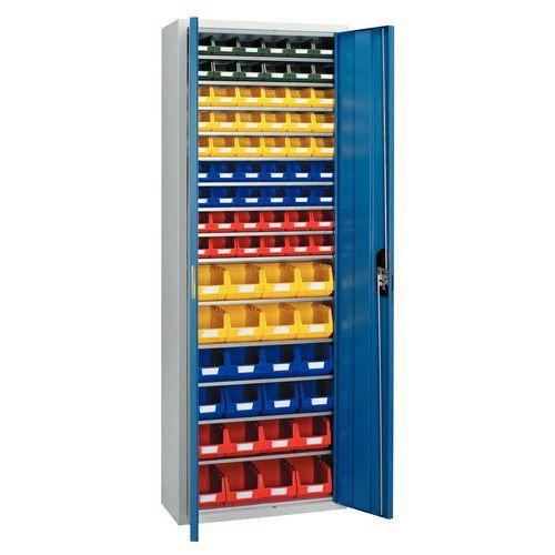 Armário standard equipado com caixas de bico Kangourou - Alto - Portas simples