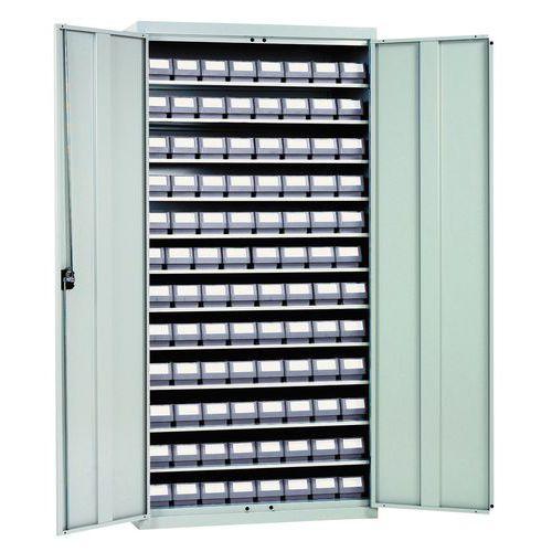 Armário com caixas-gavetas série RK - Profundidade 540 mm
