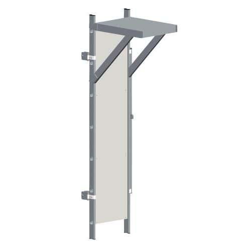 Painel de bloqueio para escada com guarda-corpo – Tubesca