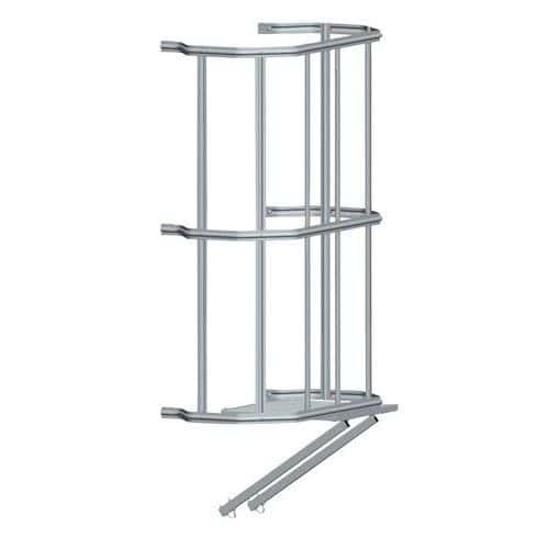 Mudança de lanço para escada com guarda-corpo – Tubesca