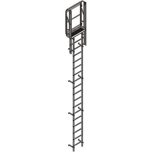 Kit de escada de guarda-corpo – altura de 1821 a 2660 mm