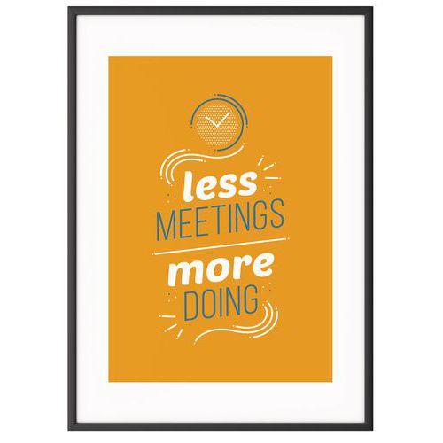 Quadro de Team Building A4 – Less Meeting – Paperflow