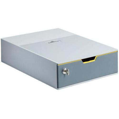 Módulo de arquivo – 1 gaveta – fechadura com chave – Durable