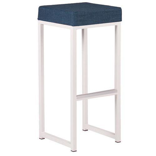 Cadeira alta Kubo Bar – estrutura e assento em tecido