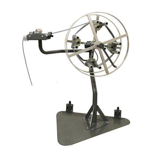 Enrolador-bobinador manual de cabo com medidor – SPIROCABLE