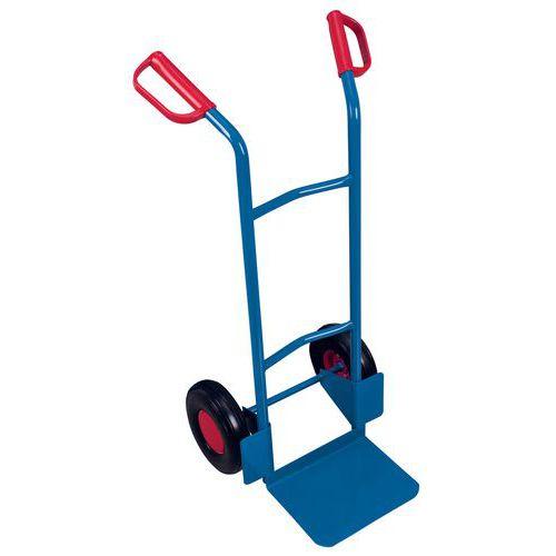 Transportador em aço – rodas pneumáticas – capacidade de 200kg
