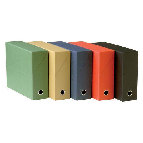 Caixa de arquivo de cartão - Lombada largura 12 cm - Fast