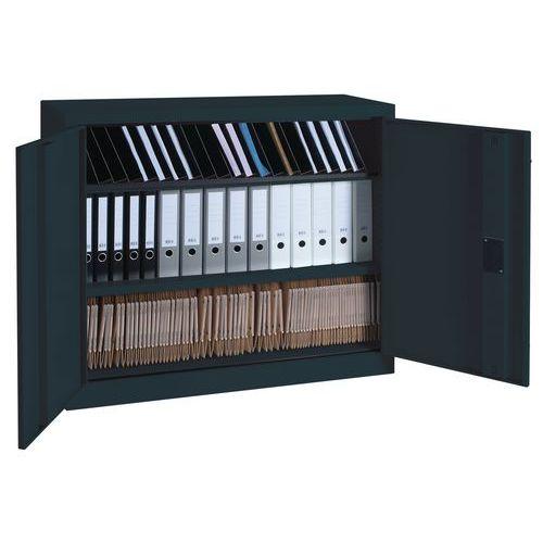 Armário monobloco com portas rebatíveis - A 100 x L 120 cm