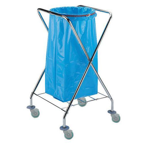 Suporte móvel para saco de lixo 4026 - 120 l