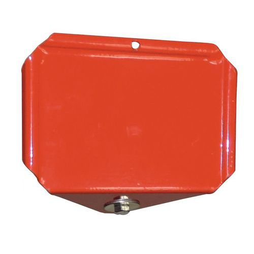 Porta-etiquetas para estante especial para resíduos de cabos