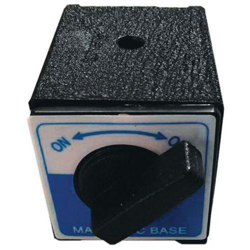 Base magnética para suporte de comparador mecânico – Manutan