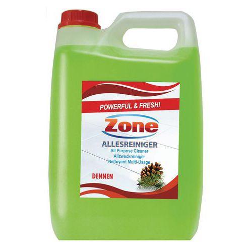 Nettoyant multi-surface Zone - Bidon 5 L
