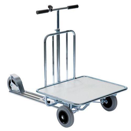Trotinete industrial com plataforma – Capacidade de 150kg