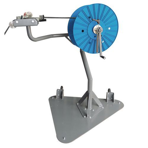 Enrolador manual de cabo com medidor – SPIROCABLE