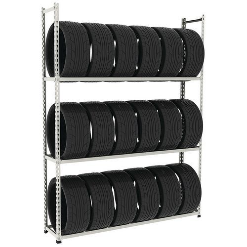 Estante para pneus Manutan Rapid 2 – 1830x380mm (AxP)