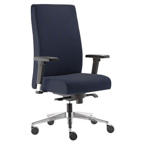 Cadeira de escritório com espaldar alto em tecido Bost – Sokoa