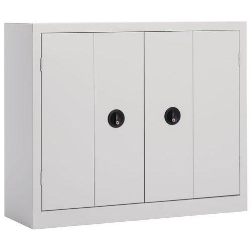 Armário com portas dobráveis em kit - Baixo - Largura 120 cm